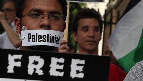 gagged Palestine