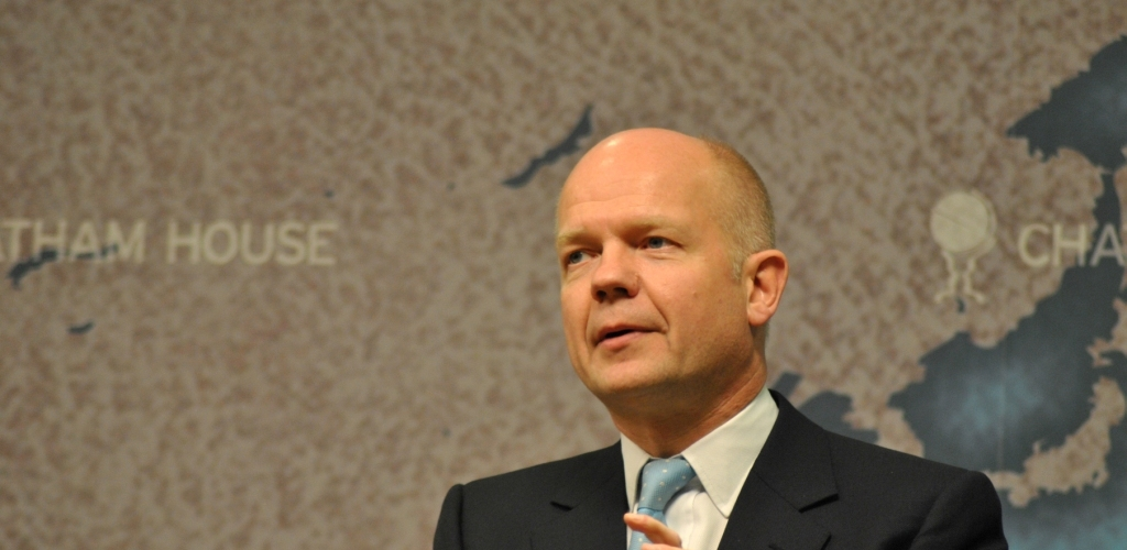 William Hague (photocredit: Chatham House)