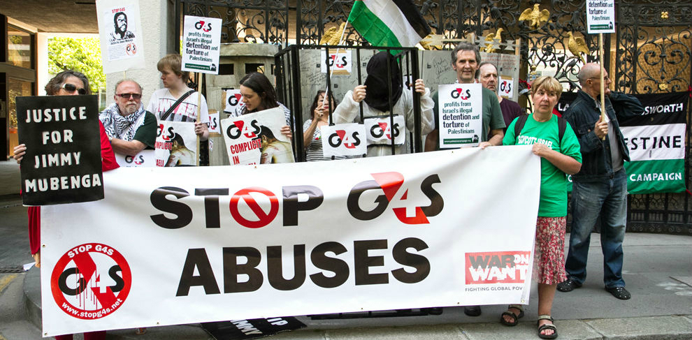 feature 1 G4S protest