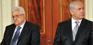 Palestinian President Abbas and Israel's Prime Minister, Benjamin Netanyahu