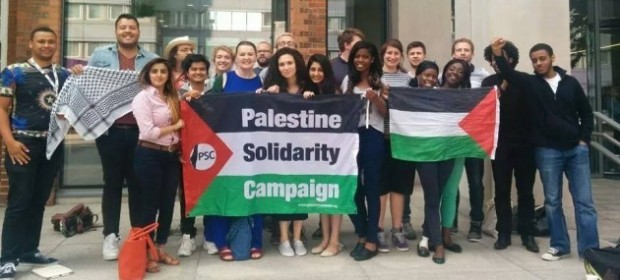students palestine