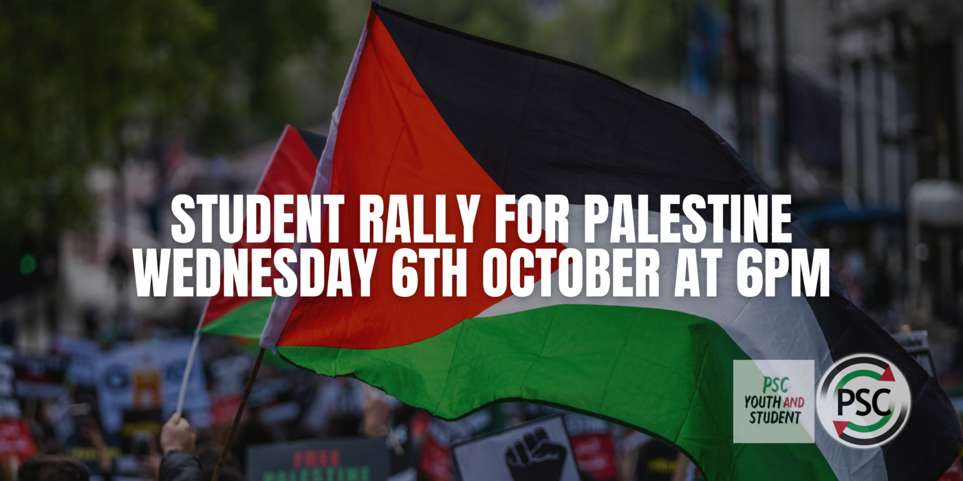 STUDENT RALLY FOR PALESTINE