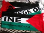 Palestine scarf, football style