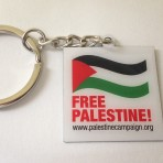 Free Palestine Key Ring