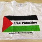 'Free Palestine' Flag T-shirt (white)