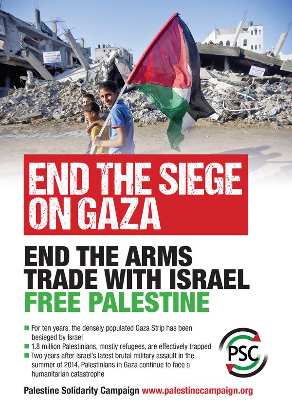 End the Siege on Gaza