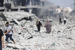 Photo: Iyad al Baba/Oxfam – Shuja'iyya, July 2014