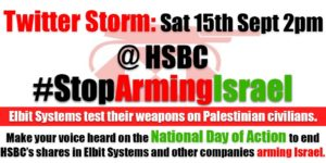 HSBC: Stop Arming Israel - National Day of Action - Palestine